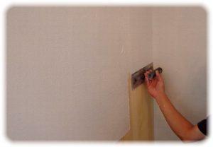 漆喰の仕上げ塗り