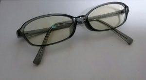 ジンズのブルーライトカットメガネ