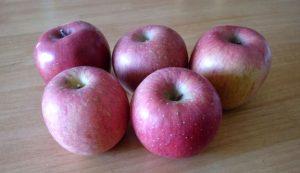 甘酸っぱいリンゴ