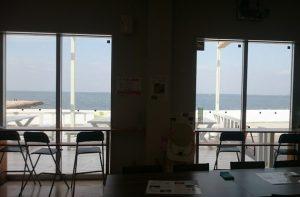 関空が見えるレストラン