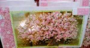 桜の可愛いハガキ