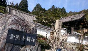 金熊寺梅林の門