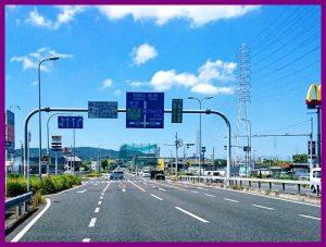 泉南市の第二阪和国道