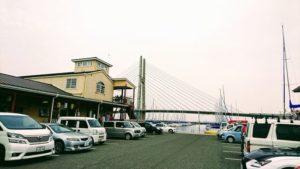 田尻朝市の駐車場