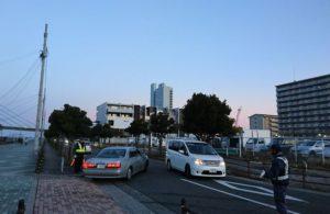 田尻漁港の日曜朝市・入り口