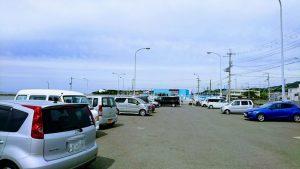 岬町・深日港の駐車場