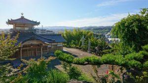 見晴らしが良い長慶寺