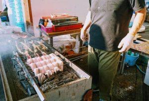 田尻漁港のうなぎの蒲焼き