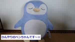 ニトリ・ひんやり抱きまくらのペンギン