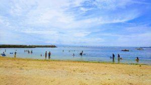 樽井サザンビーチの海