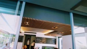 イタリアン・カフェ空音のテーブル席