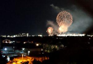 泉州夏祭りの花火