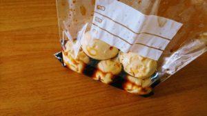 ジップロック袋に煮卵を保存