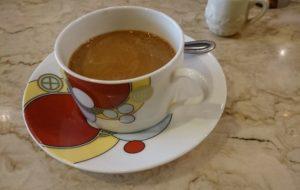 ランチ後のコーヒー