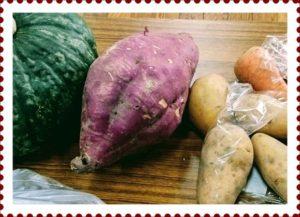 サツマイモではんこを作る