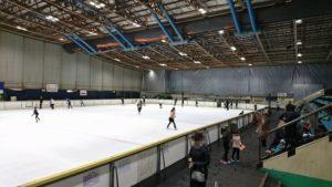 大阪府立臨海スポーツセンターのスケートリンク