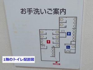 りんくうタウンのシークル男女トイレ