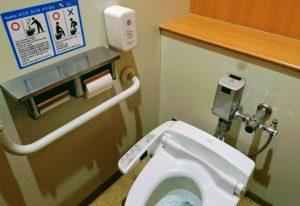 りんくうプレジャータウンシークルの2階トイレ