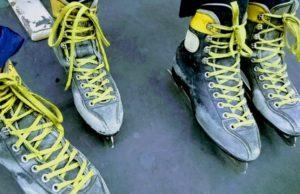 大阪府立臨海スポーツセンターのスケートのスケート靴