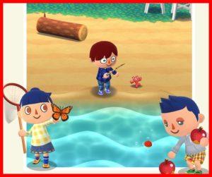 どうぶつの森 ポケットキャンプの釣り