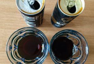 ボスとファイアの缶コーヒー