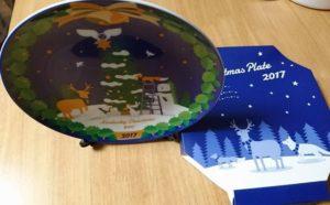 ケンタッキーのクリスマス絵皿