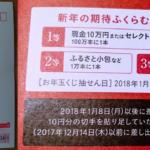 2018年(平成30年)お年玉くじ商品