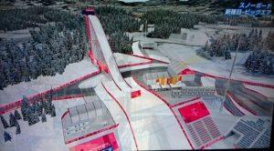 平昌オリンピック・スノーボード・ビッグエア競技場