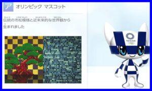 2020東京オリンピックマスコット・青色