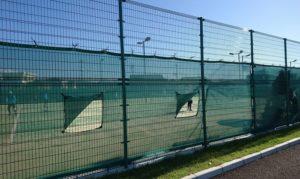 泉佐野南部公園のテニスコート