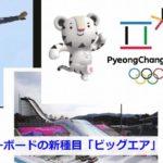 オリンピック新競技のビッグエア