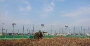 泉佐野南部公園・テニスコート