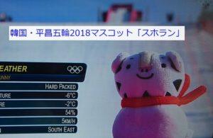 平昌五輪(オリンピック)マスコット