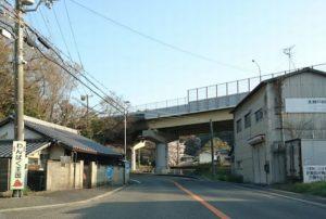 山中渓までの道