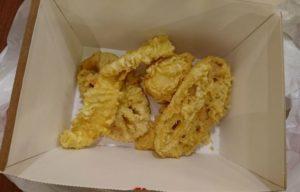 丸亀製麺のテイクアウト天ぷら