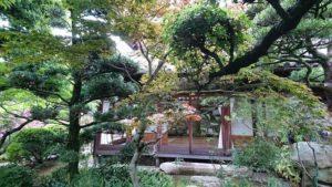 信達宿の庭園