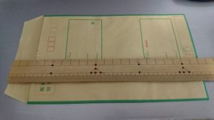 現金書留の封筒サイズ