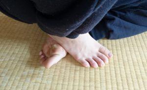 自分でする「足裏指圧」